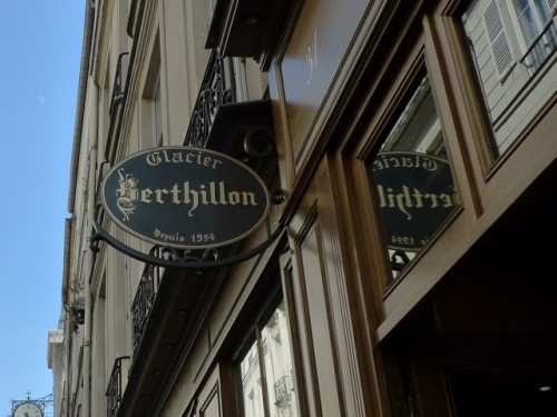 Berthillon Ice Cream  Paris Photo Barbra Austin