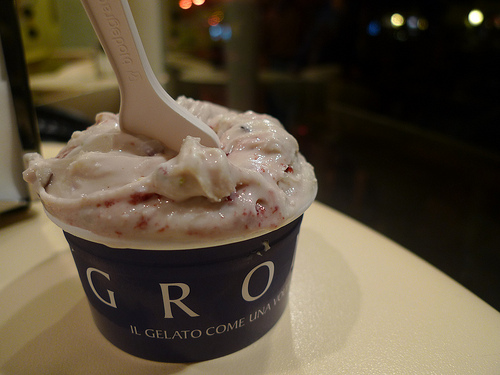 Grom Gelato Paris Photo Barbra Austin