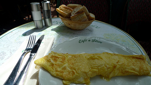 Cafe de Flore Restaurant Paris Photo Meg Zimbeck