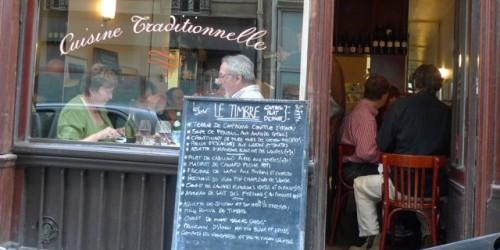 Le Timbre restaurant in Paris   parisbymouth.com