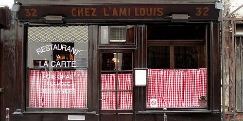 L'Ami Louis restaurant in Paris photo by Food Snob | parisbymouth.com