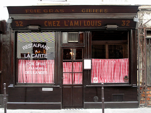 L'Ami Louis front by Food Snob