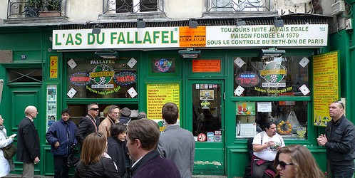 L'As du Fallafel restaurant in Paris | parisbymouth.com