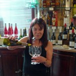 Wine tasting at la Derniere Goutte by Phyllis Flick