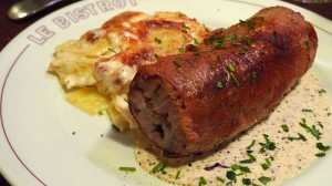 andouillette at bistrot paul bert restaurant in paris | parisbymouth.com