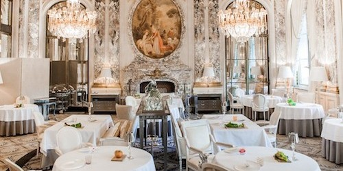 Le Meurice restaurant in Paris | parisbymouth.com