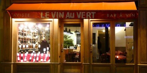 Le Vin au Vert photo by Aaron Ayscough wine bar in Paris | parisbymouth.com