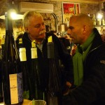 André Ostertag and Drew Harré at La Derniere Goutte