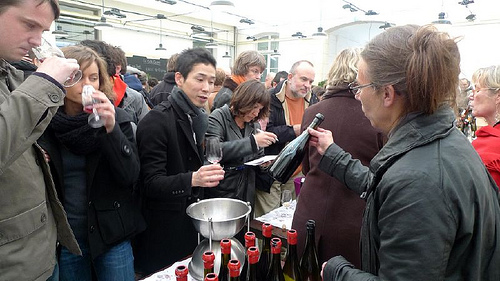Paris wine tastings for the weekend of December 3-5