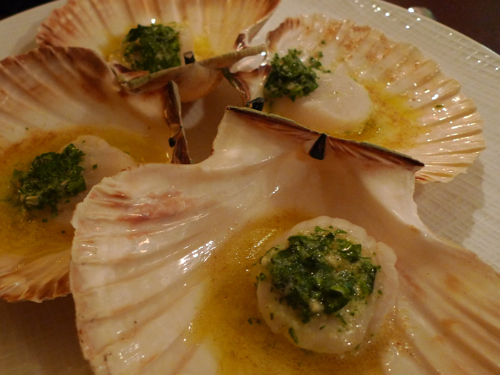 Scallops at L'Epicuriste bistro in Paris | parisbymouth.com