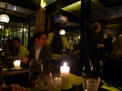 Grazie Restaurant Paris Photo Meg Zimbeck