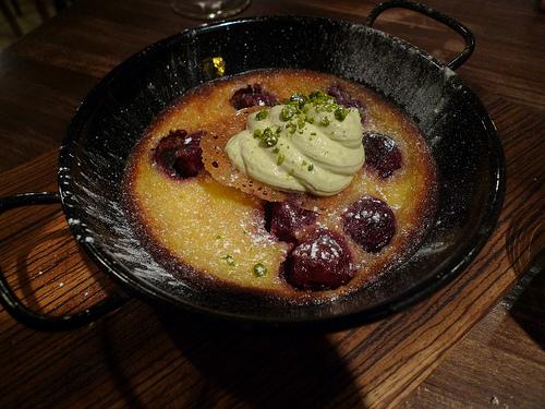 Clafoutis aux Cerises at Le Grand Pan restaurant in Paris | parisbymouth.com