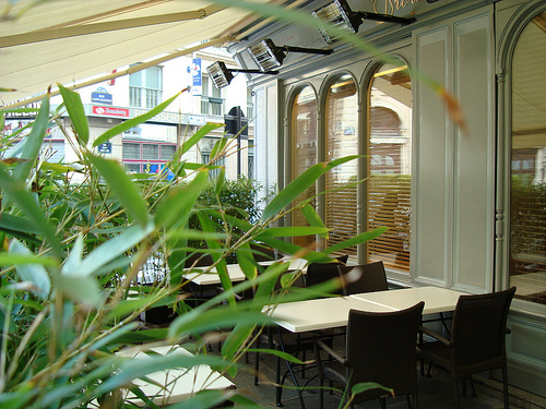 Five Great for Outdoor Dining - Drouant, image courtesy of the restaurant