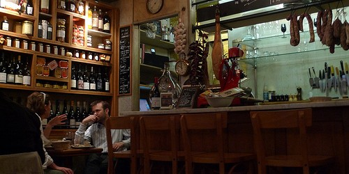 La Cremerie wine bar in Paris | parisbymouth.com