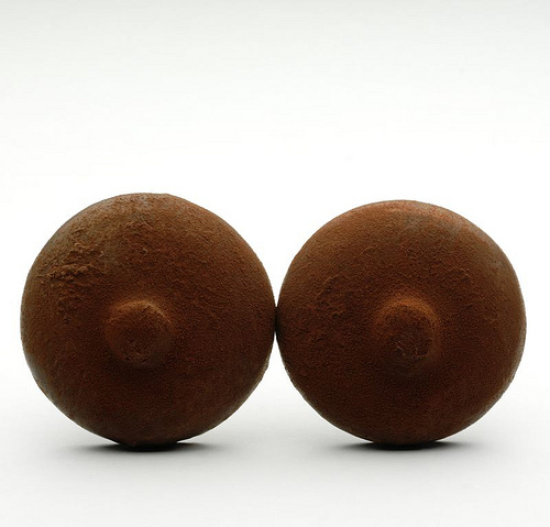 Chocolate nipples from Patrick Roger