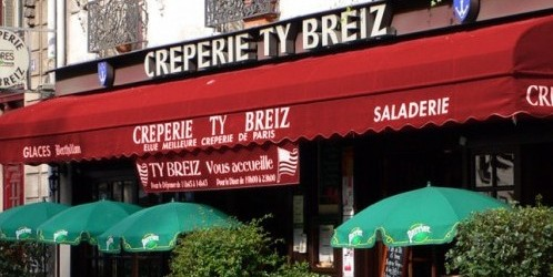 Ty Breiz creperie in Paris via tybreizcreperieparis.fr | parisbymouth.com