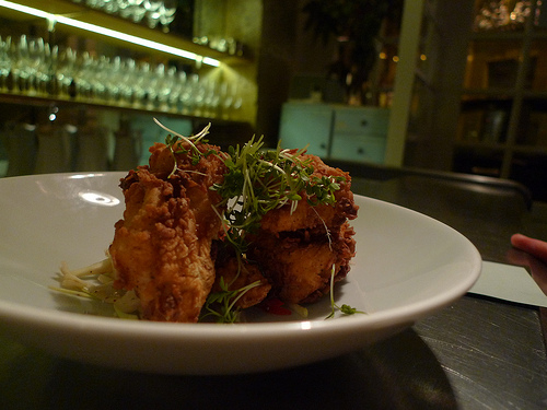 Fried Chicken at Verjus in Paris| parisbymouth.com
