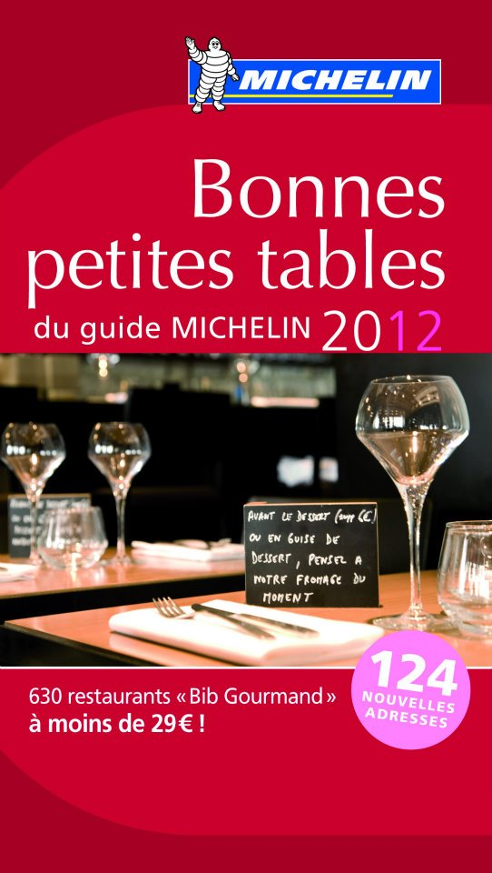 Michelin selects its 2012 Palmarès Bib Gourmand