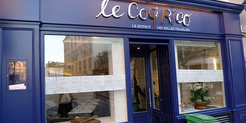Le Coq Rico restaurant in Paris | parisbymouth.com