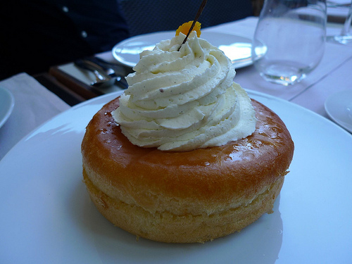 Baba au rhum at Le Mini-Palais