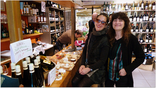 Ruth Reichl & Nancy Silverton on the Tour de Fromage cheese tour