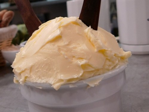 Bordier butter at L'Avant Comptoir wine bar in Paris | parisbymouth.com