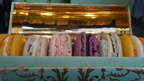 Ladurée macarons by Meg Zimbeck