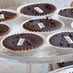 Chocolate tarts from a young baker who's reinterpreting traditional French desserts