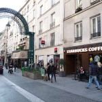Our meeting point in front of Starbucks at 21 Rue Petits Carreaux, 75002