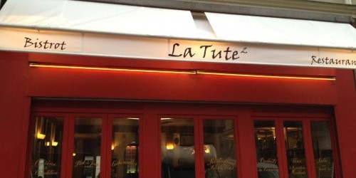 La Tute restaurant in Paris via Facebook | parisbymouth.com