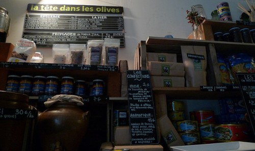 La Tête dans les Olives by Meg Zimbeck