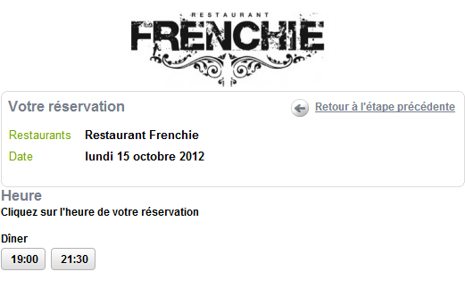 Frenchie reservations