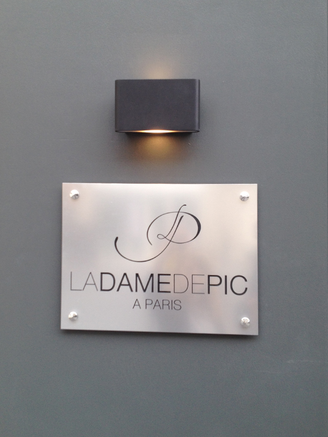 La Dame de Pic (photo courtesy of her blog)