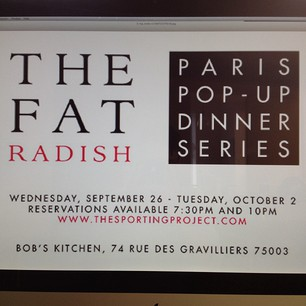 Fashionistas get Fat (Radish) in Paris