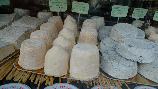 Small-production, artisanal cheeses