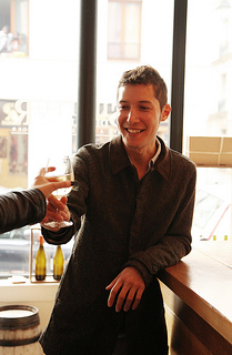 Wine writer and guide Aaron Ayscough (photo Ashley Ludaescher)