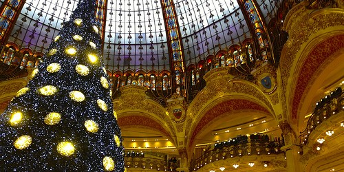 Christmas in Paris, photo by Bob Hall via Flickr