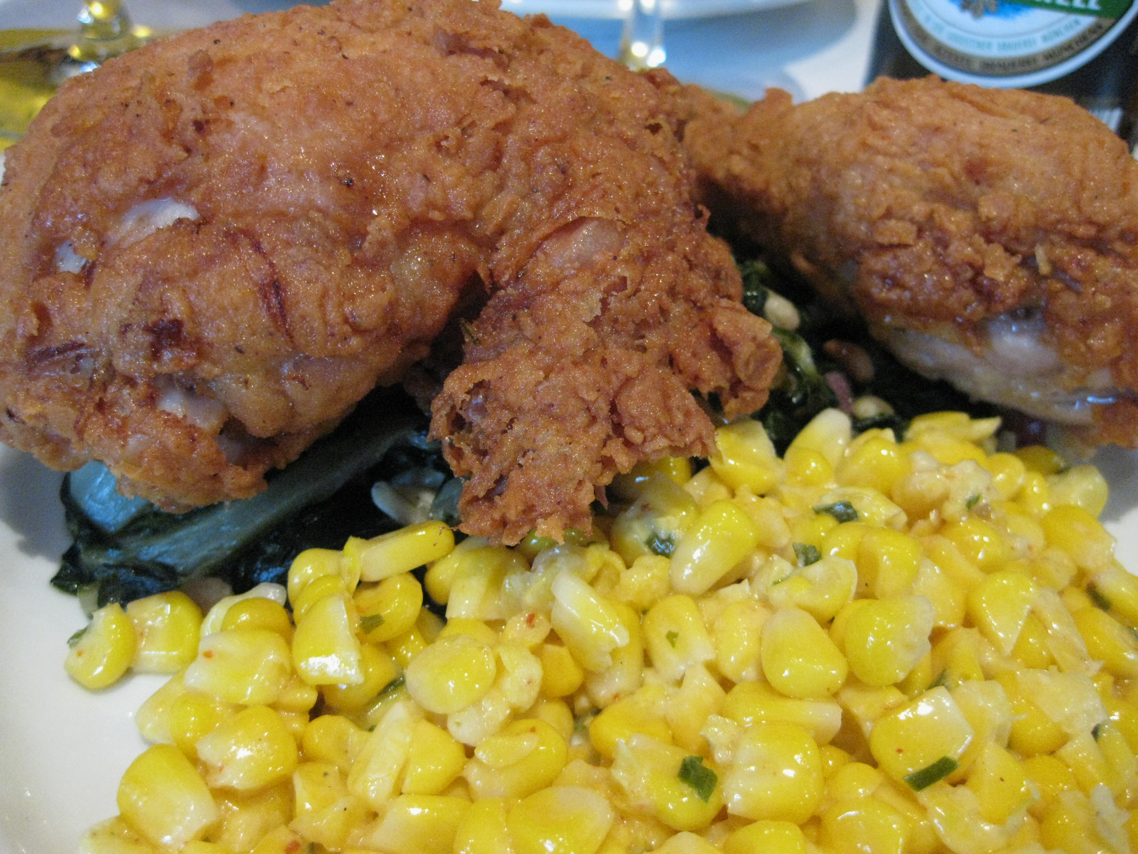 Fried chicken on the menu for the first pop-up beer lunch on January 20.