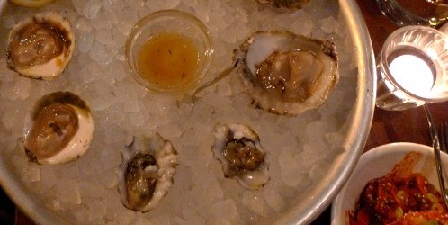Oysters at Le Mary Celeste in Paris | parisbymouth.com