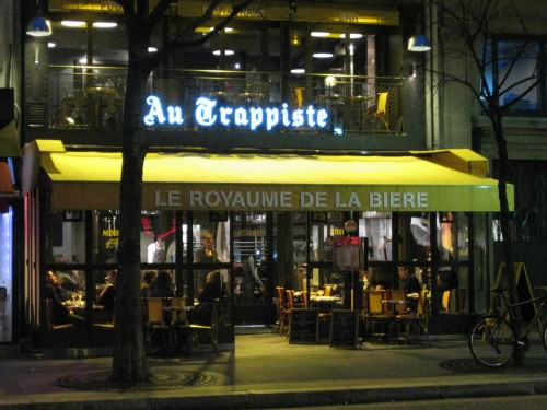 Au Trappiste beer bar Paris