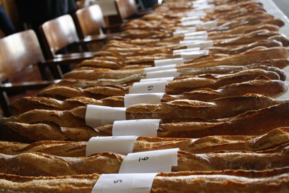 Baguettes awaiting judgement