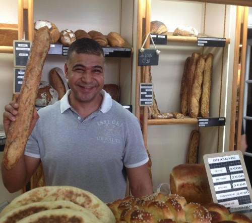 Ridha Khadher winner Best Baguette in Paris