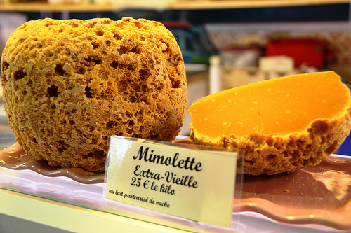 mimolette via jlastras on flickr
