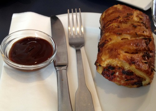 Sausage roll at Ten Belles