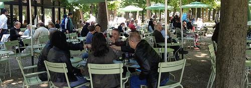 La Pavillon de la Fontaine Luxembourg Gardens