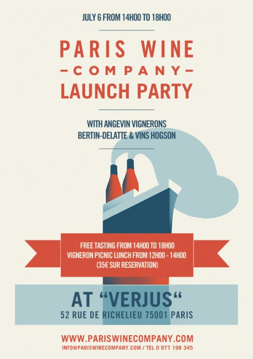 Paris Wine Co. Launch