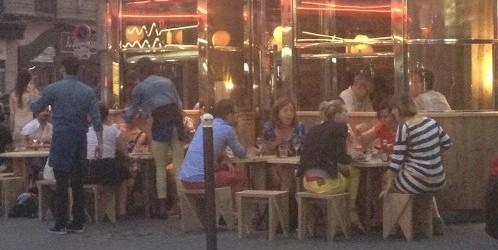 Le Depanneur terrasse in Paris | parisbymouth.com