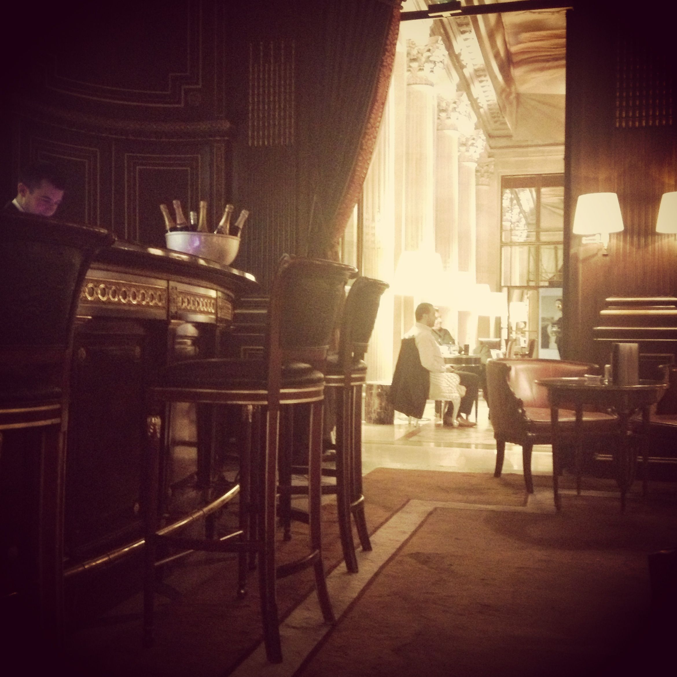 Bar 228 at Le Meurice. Photo by Catherine Down.