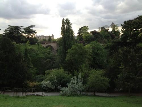 Paris Parc des Buttes Chaumont