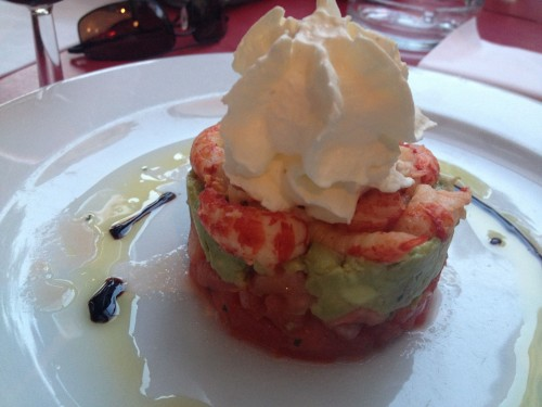 A La Renaissance Shrimp and Avocado Salad